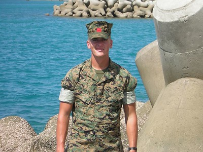Corporal Philip D. Schulte, U.S. Marine Corps assigned to Camp Foster, Okinawa.(Camp Al-asad, Iraq, February 2006-Sept. 7, 2006)